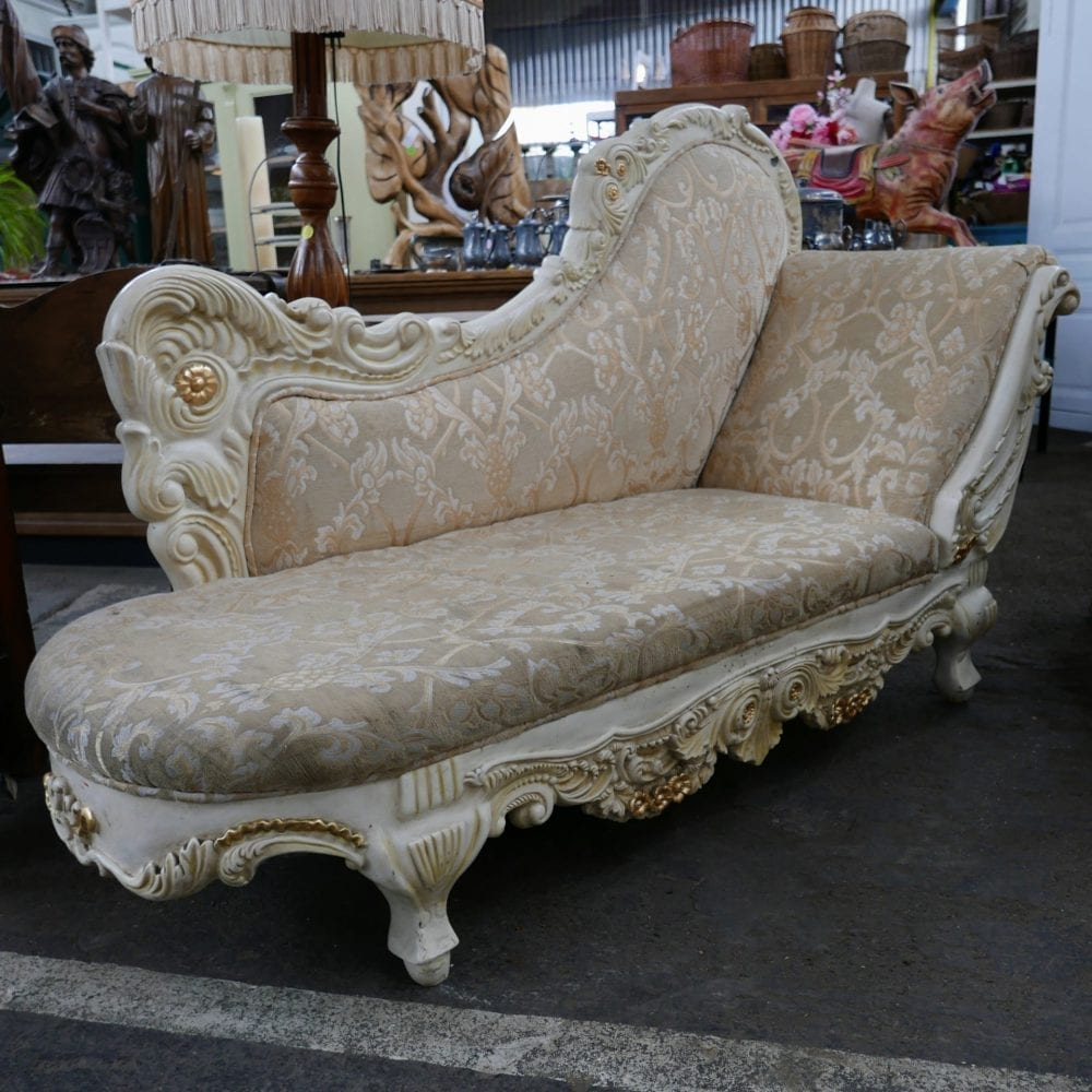 Barok chaise longue bank