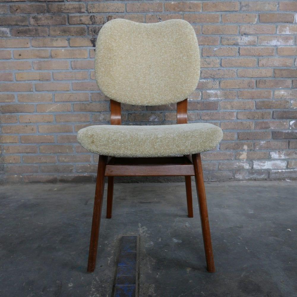 Eetkamer stoelen vintage retro