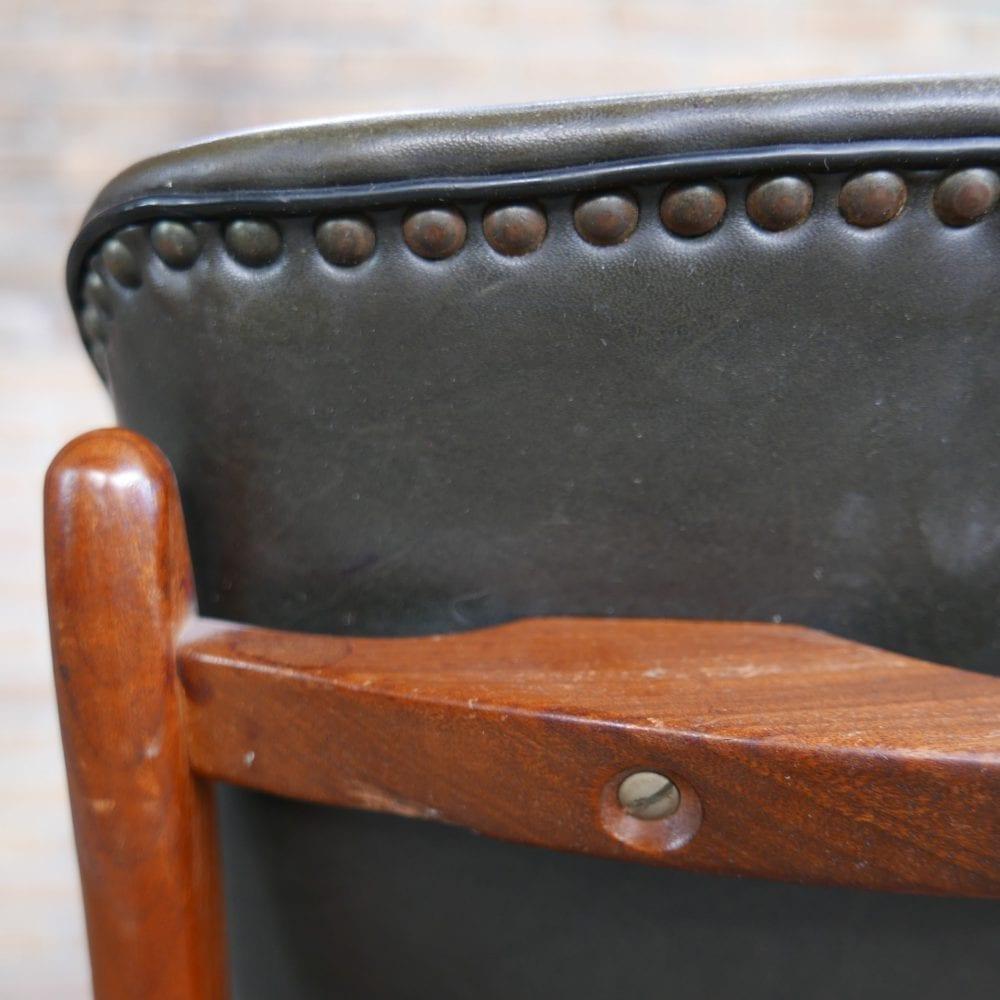 vintage leren stoel