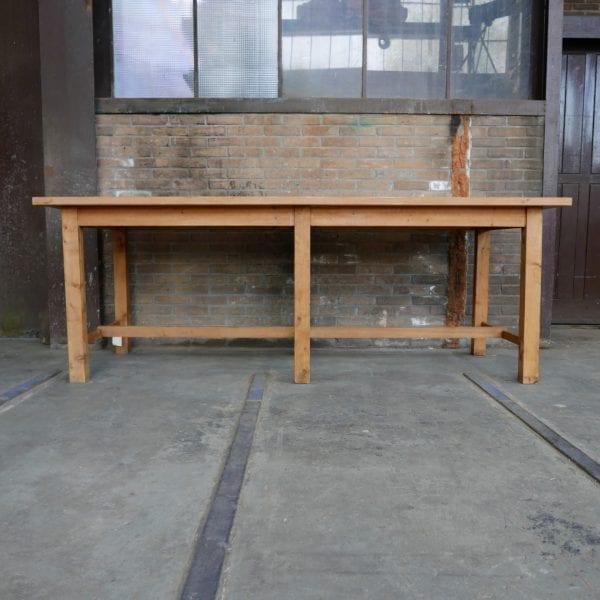 Bruine werktafel