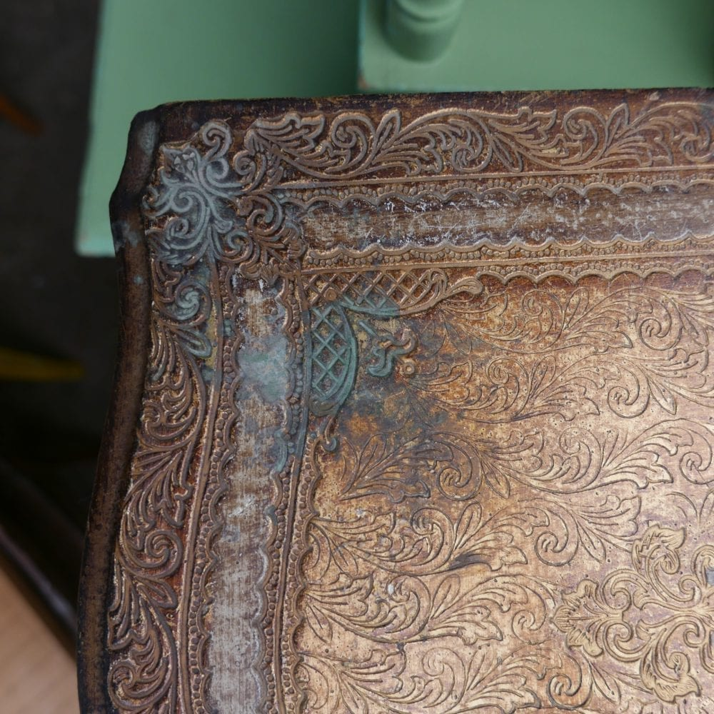 Barok gouden kastje
