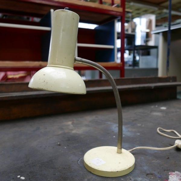 Industriële crème lamp