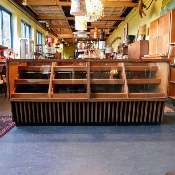 Vintage toonbank