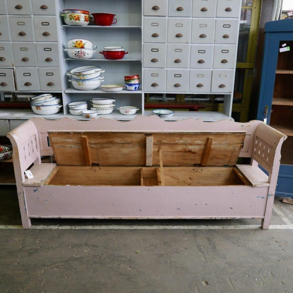 roze klepbank