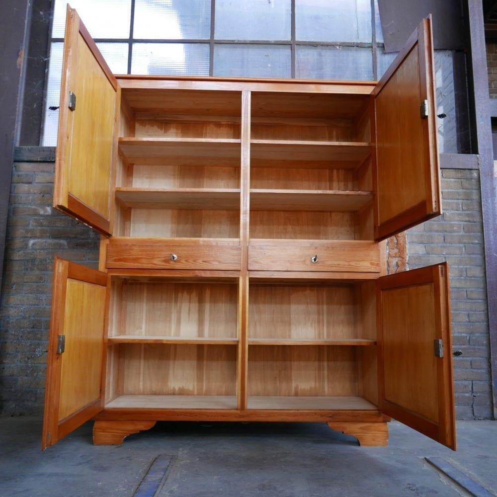 houten keukenkast