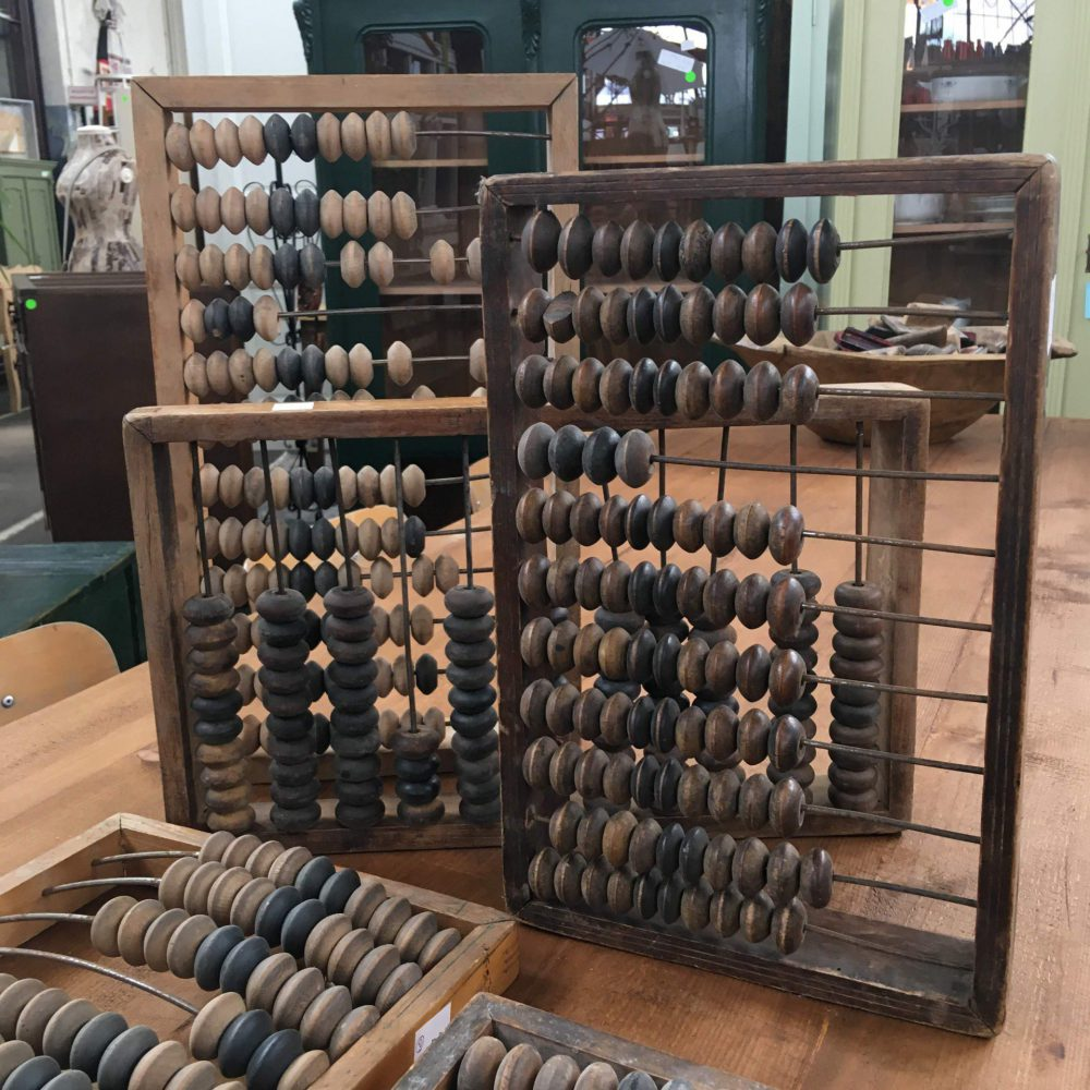 Hongaarse telraam abacus