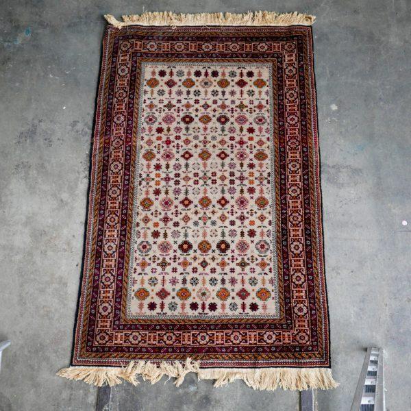 Tapijt Iran Bruin klein