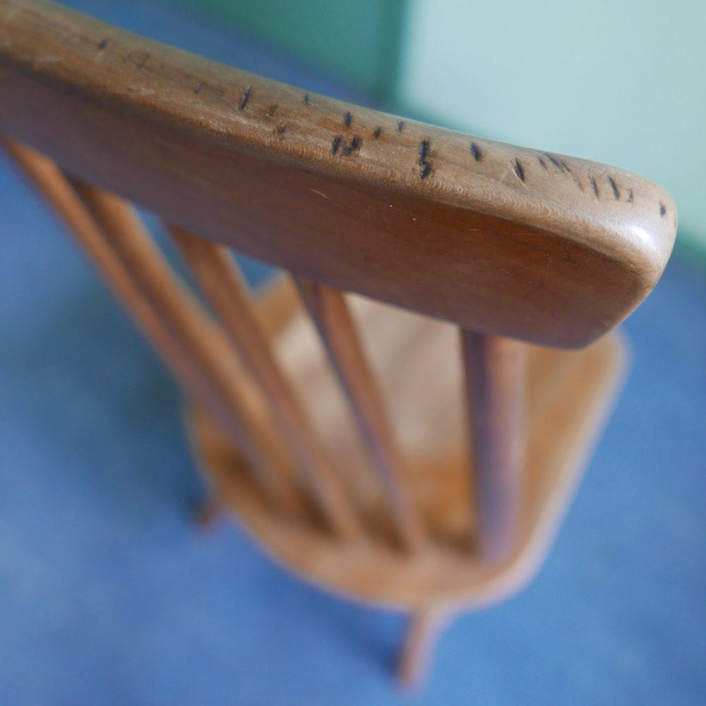 houten spijlen keukenstoel