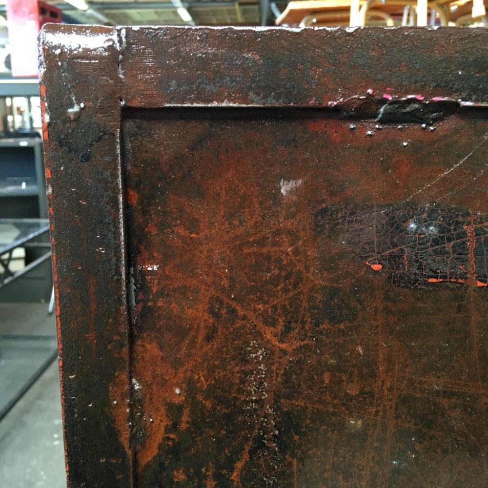 Metalen open kast