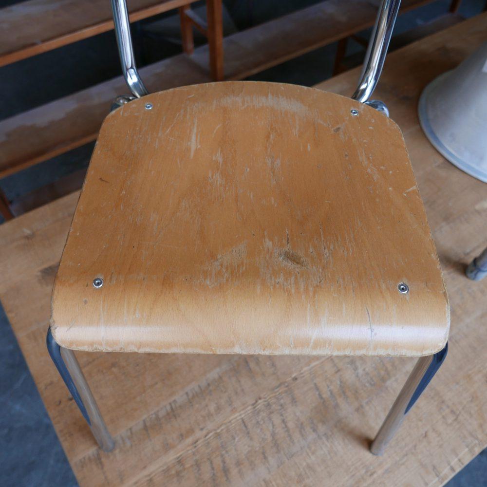 Stoel chroom frame poten
