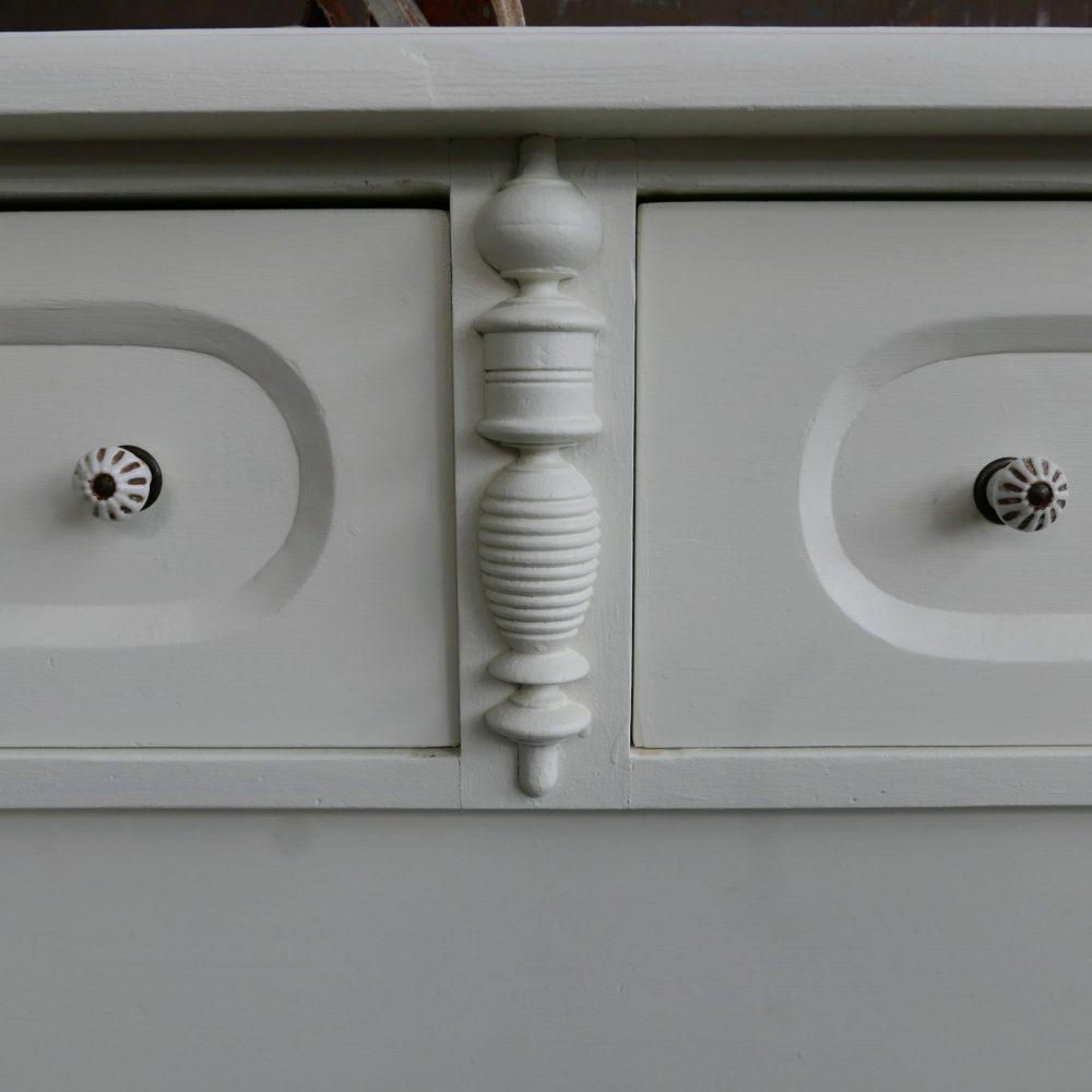 Witte ladekast