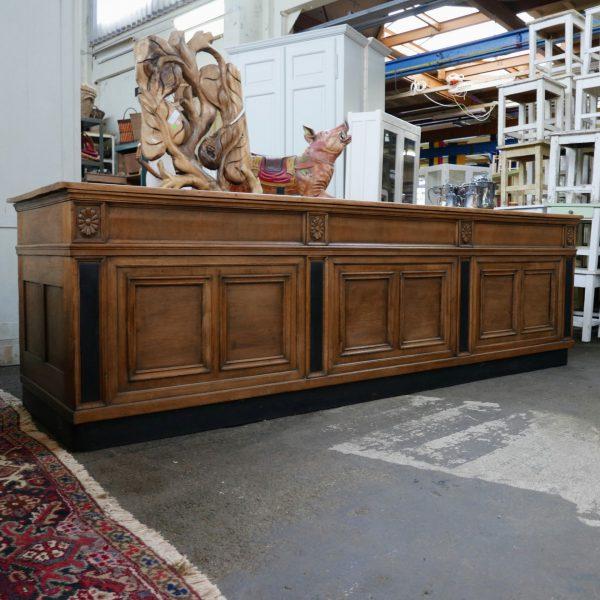 Houten toog dressoir bar toonbank