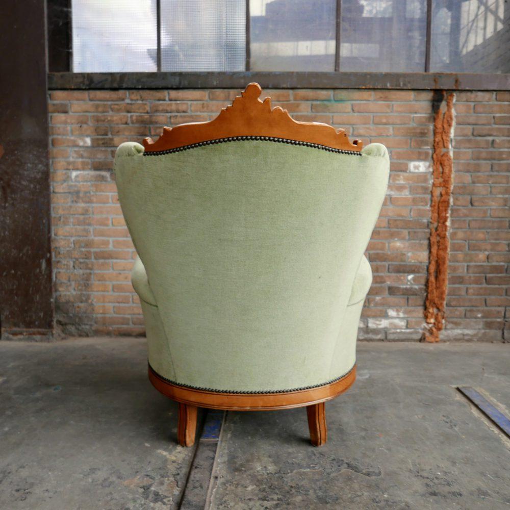 Barok stoelen fauteuil leunstoel