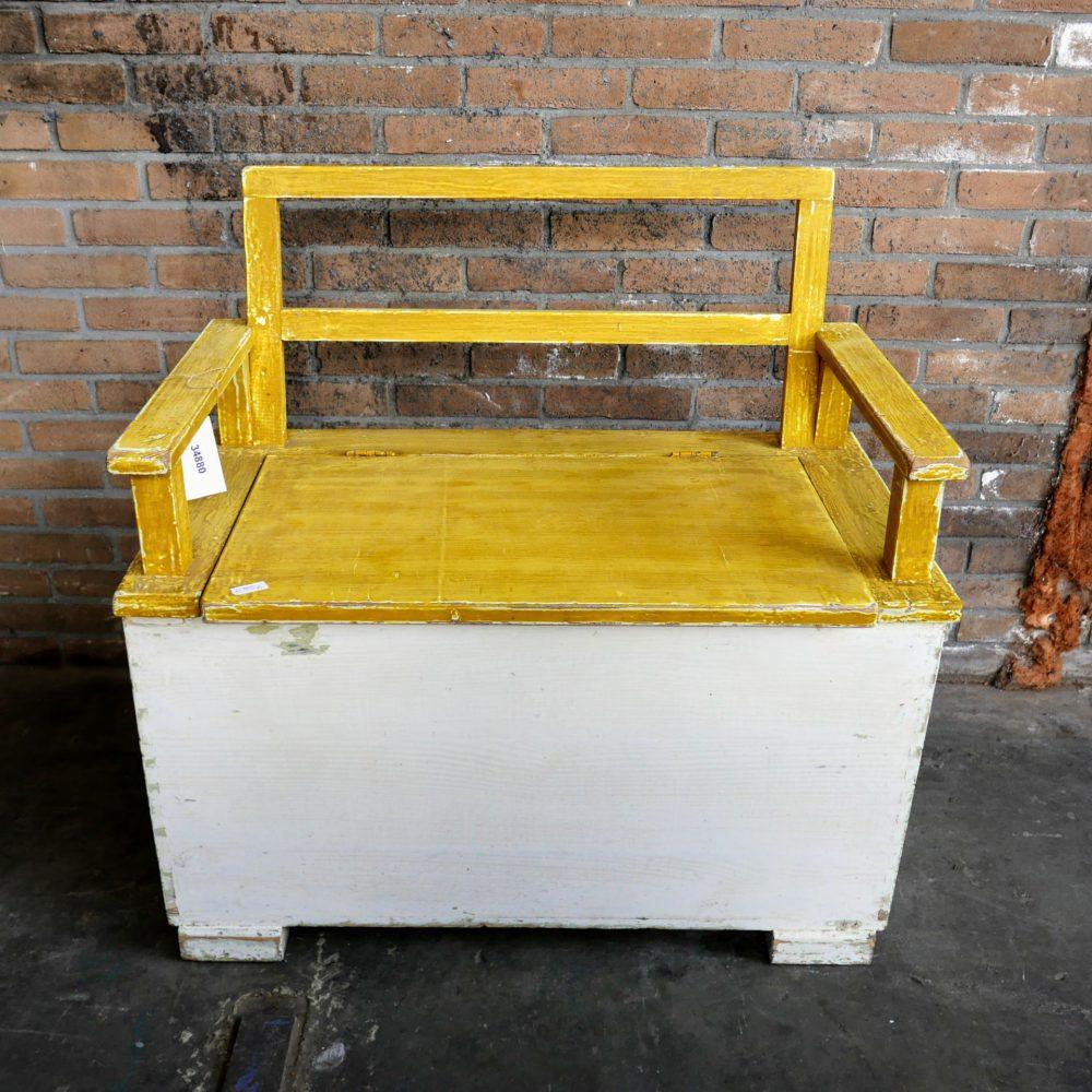 Kistbank geel