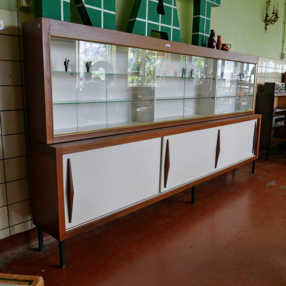 Vintage vitrinekast