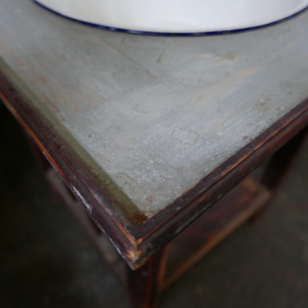 Brocante wastafel meubel