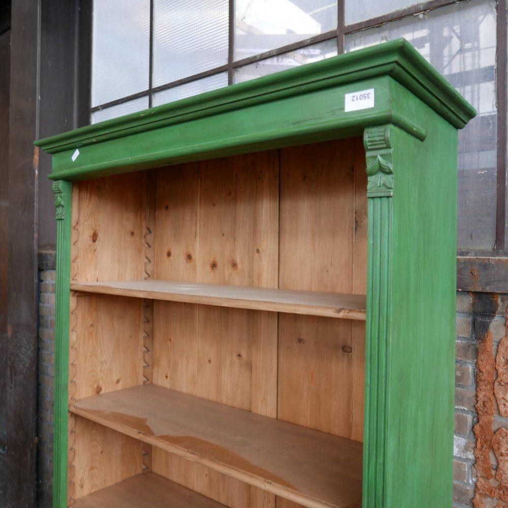 Groene open kast