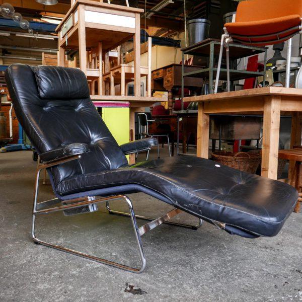 vintage lounge stoel