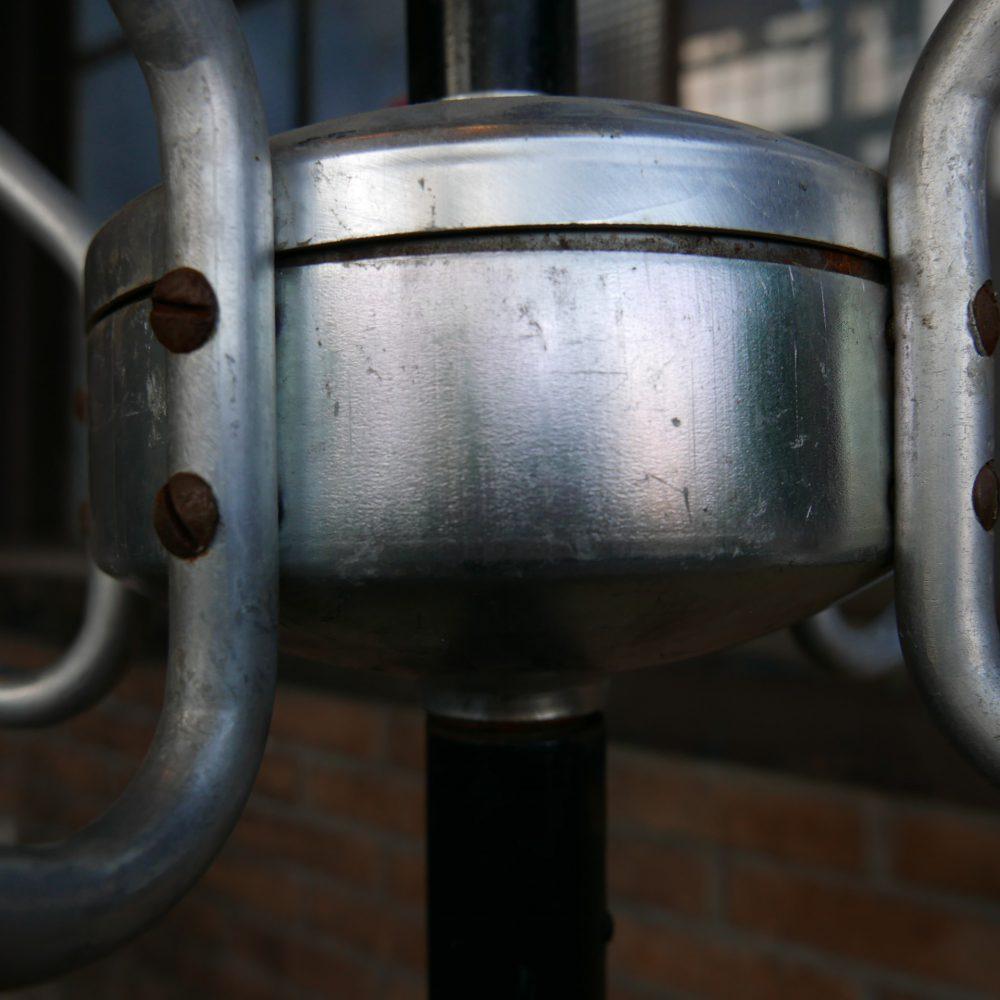 Metalen kapstok