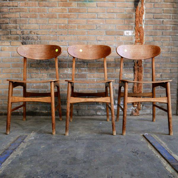 houten design stoelen