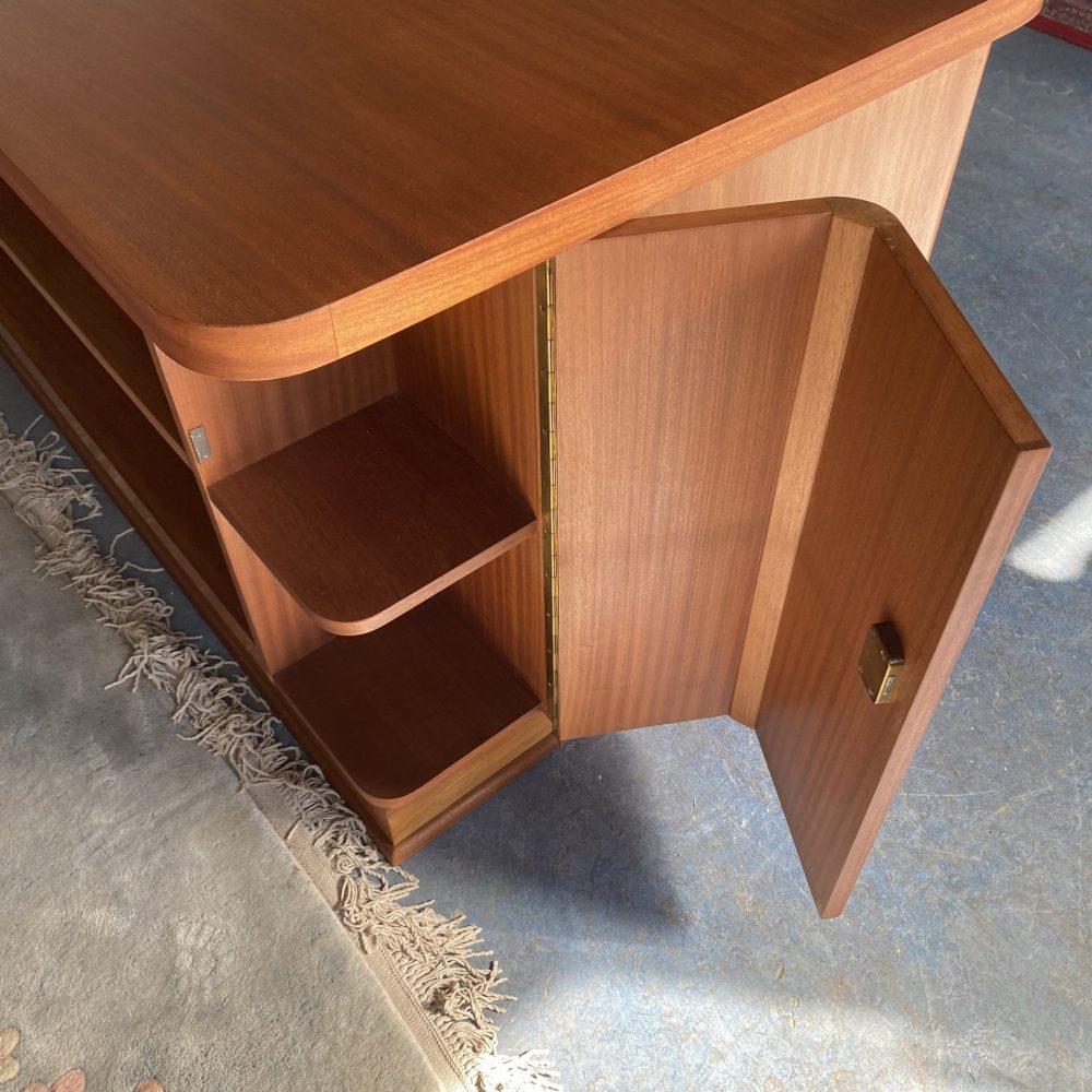 Vintage houten bureau