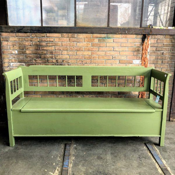 Groene klepbank