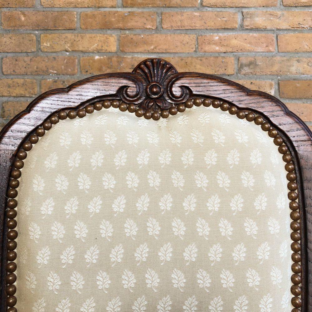Vintage eetkamerstoelen barok