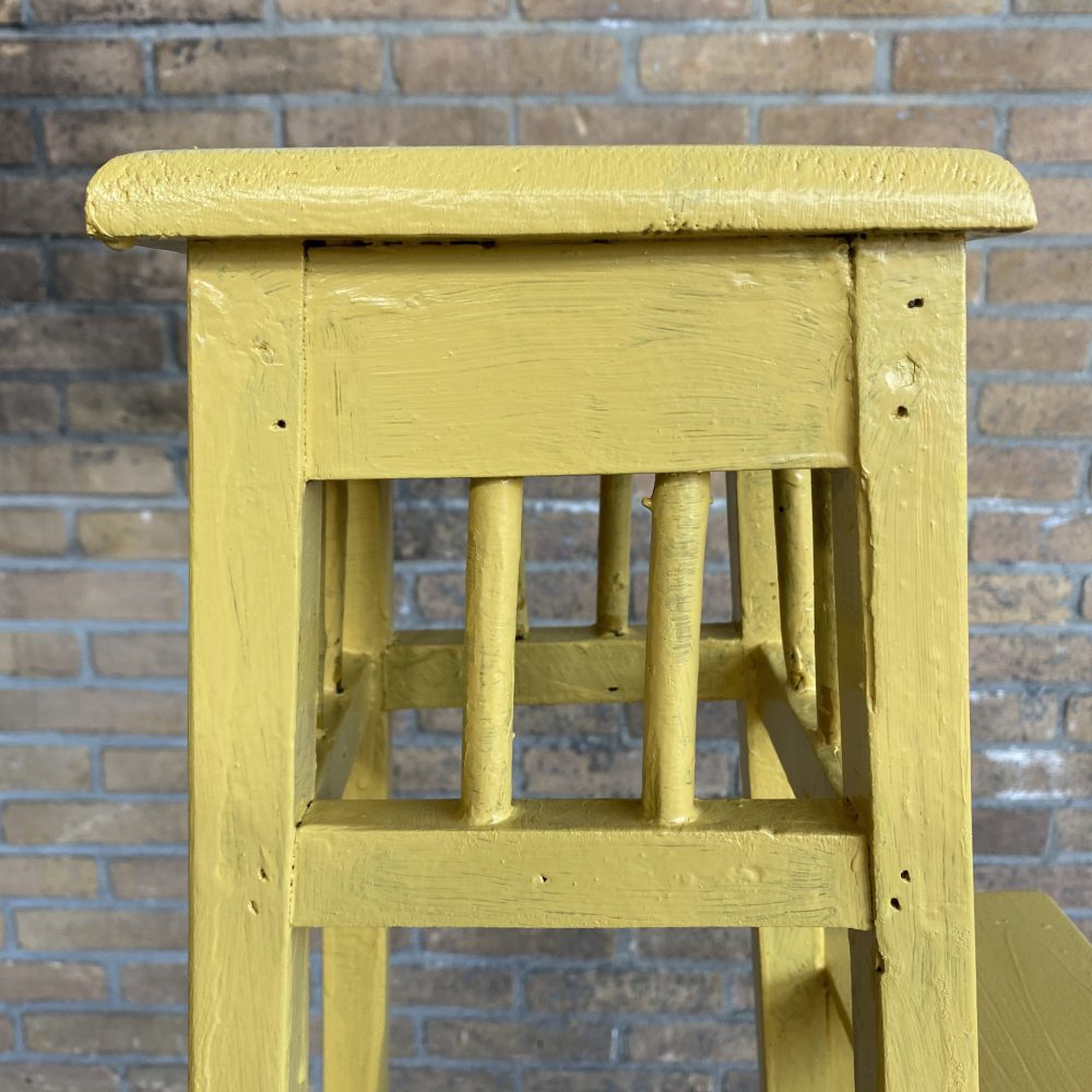 Gele plantentafel