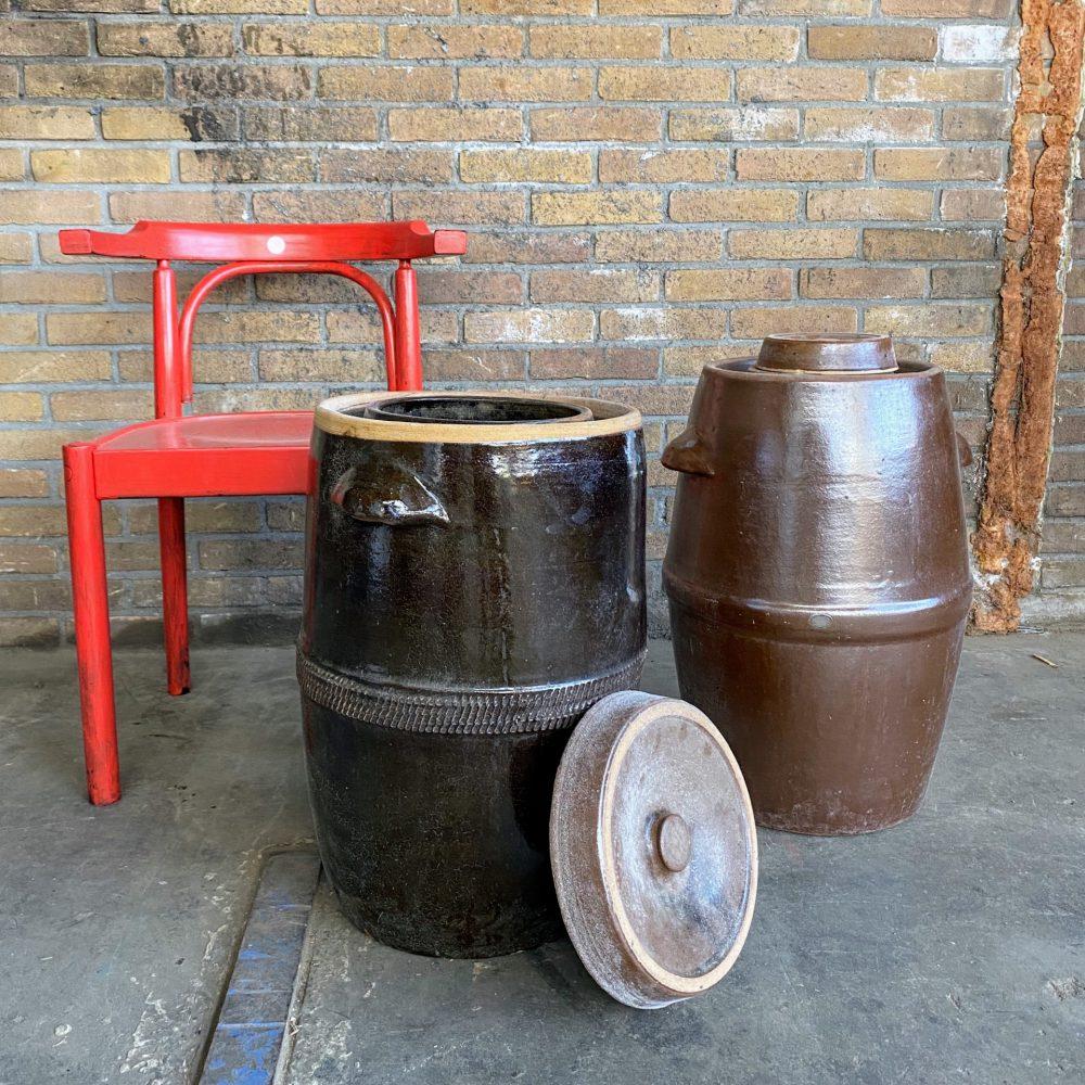 Zuurkool potten