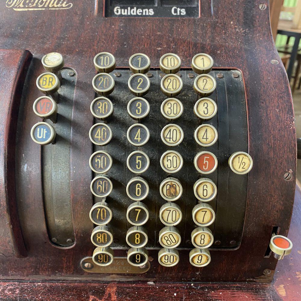 Vintage kassa