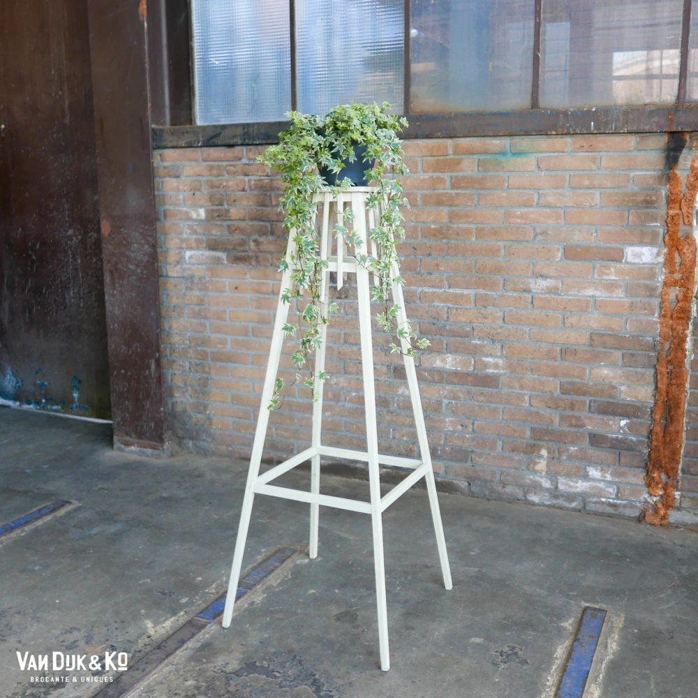 Witte plantentafel