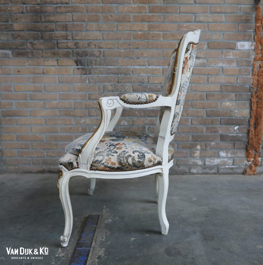 Barok stoel fauteuil Louis XV