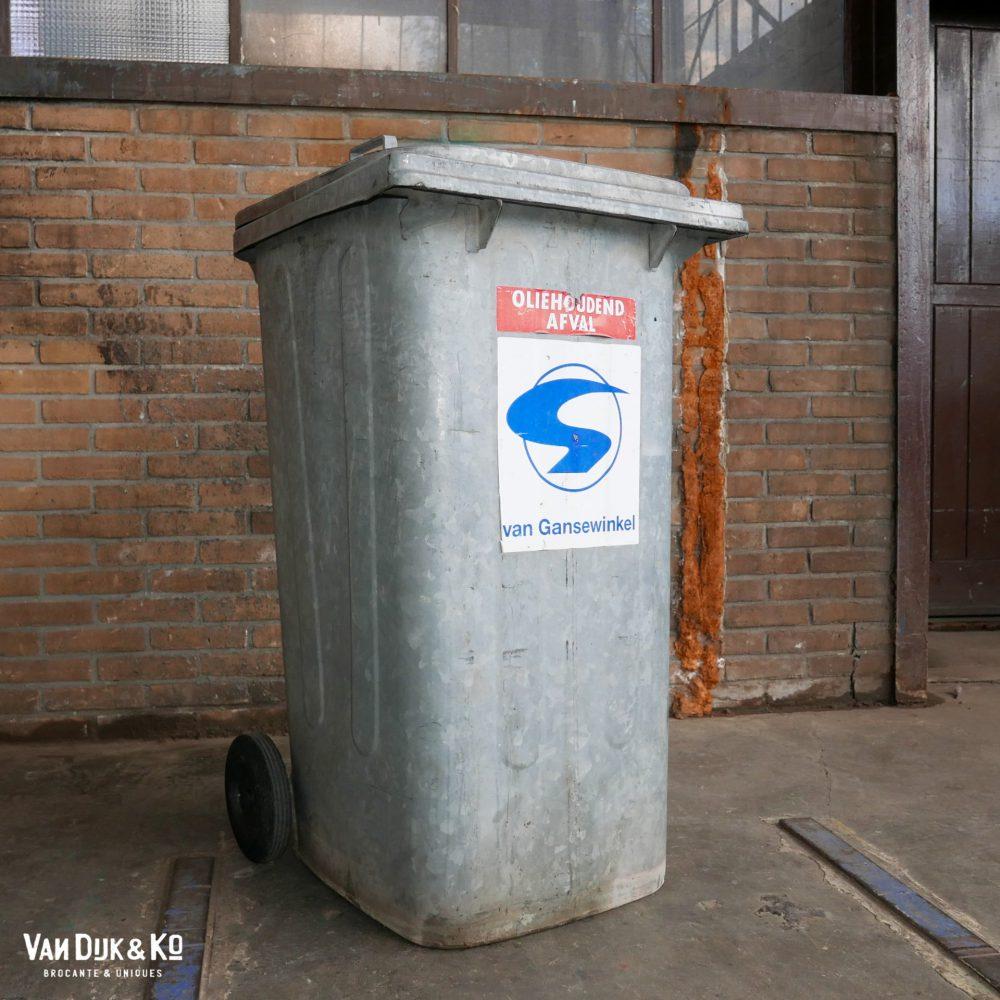 Zinken kliko bak vuilnisbak