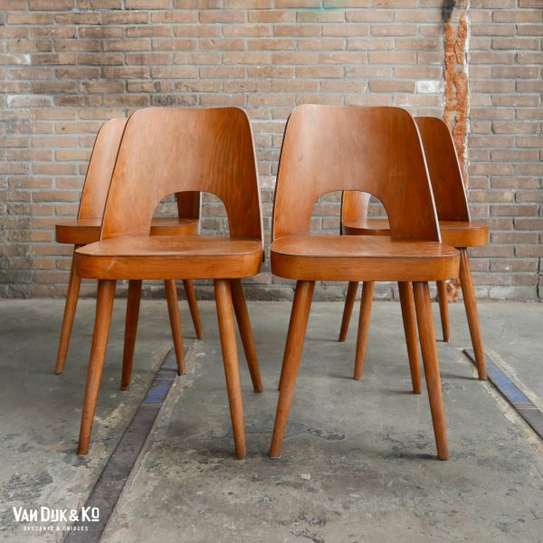 Vintage Thonet stoel - Oswald Haerdtl