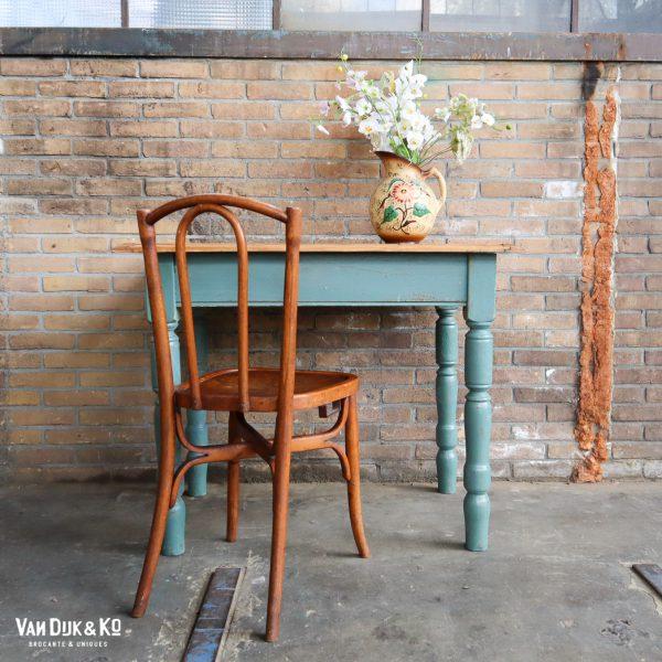 Vintage houten tafel