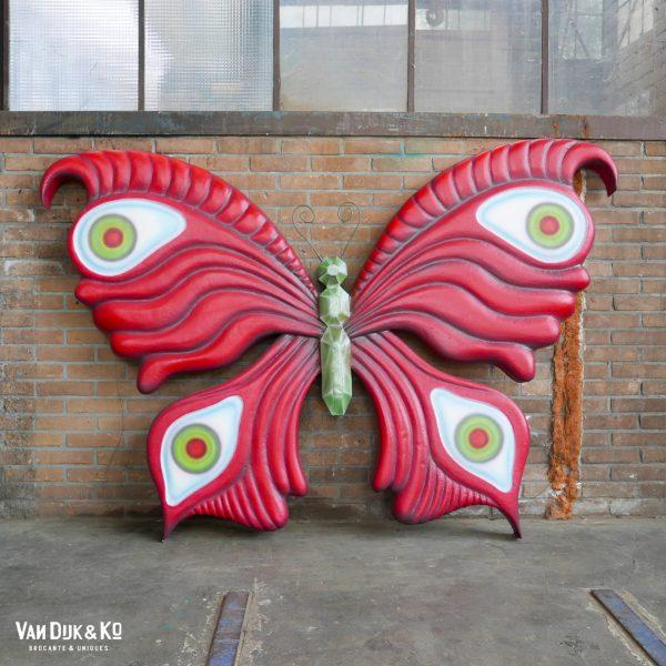 Vlinder - decorstuk / etalage prop