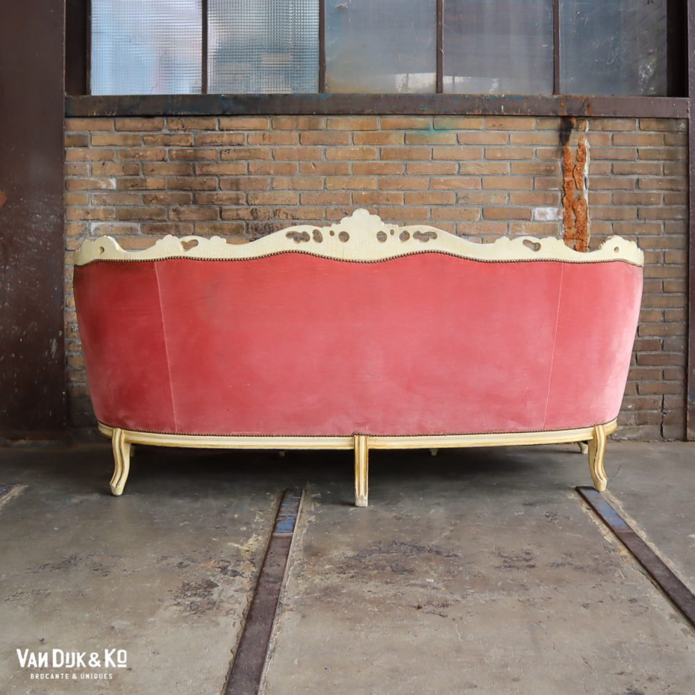 Vintage velvet bank
