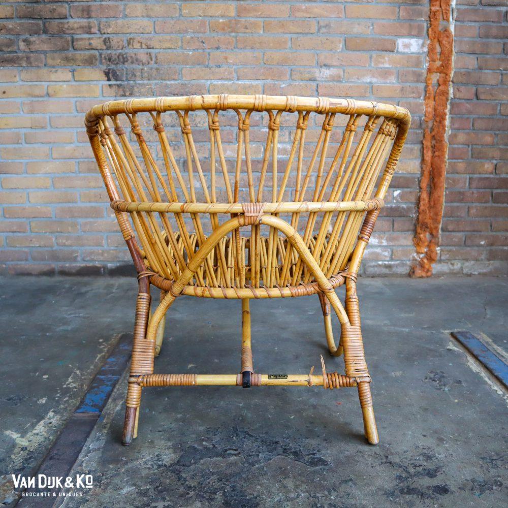 Vintage Rohe stoel