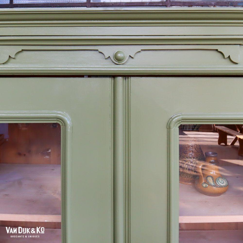 Weense barok vitrinekast