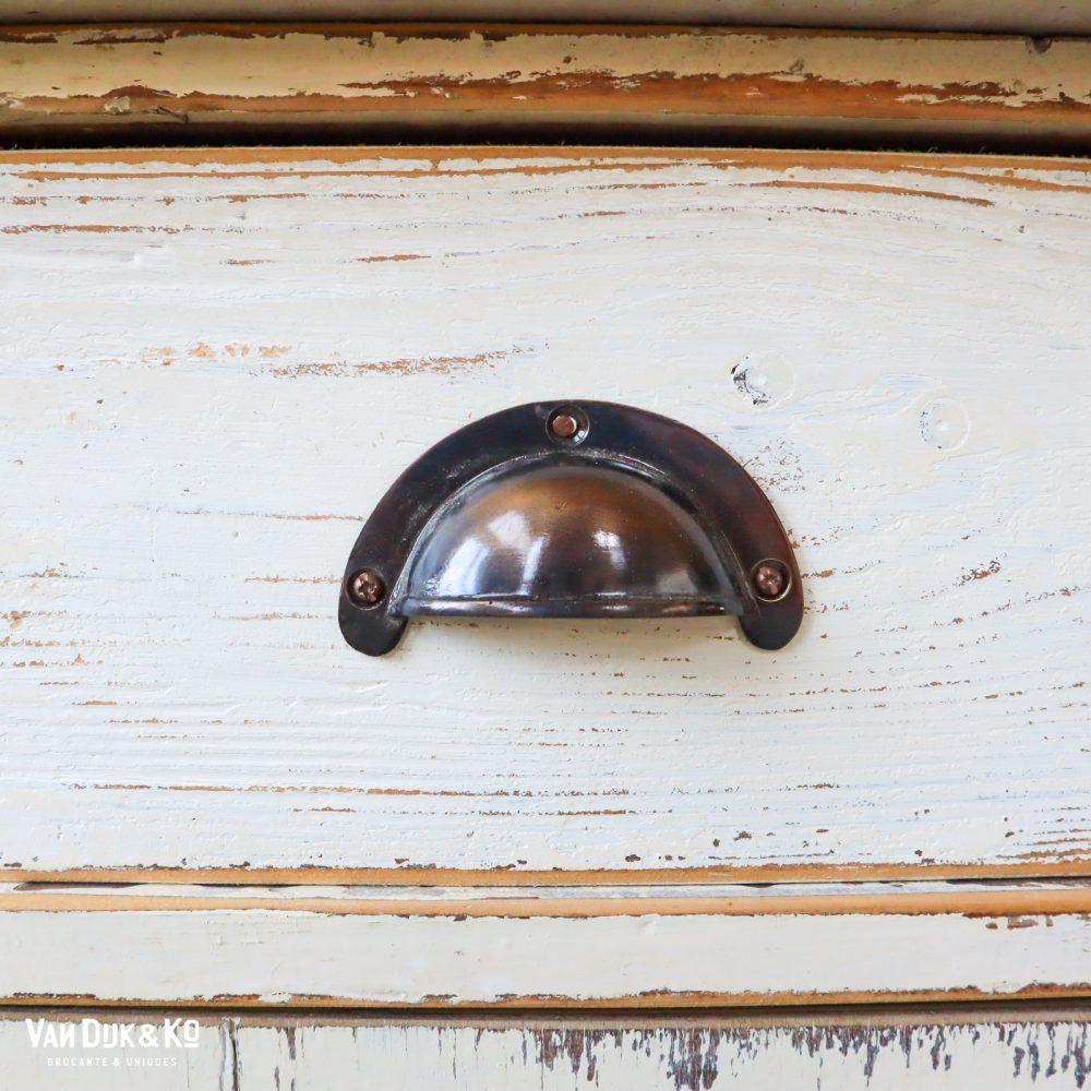 Brocante houten toog