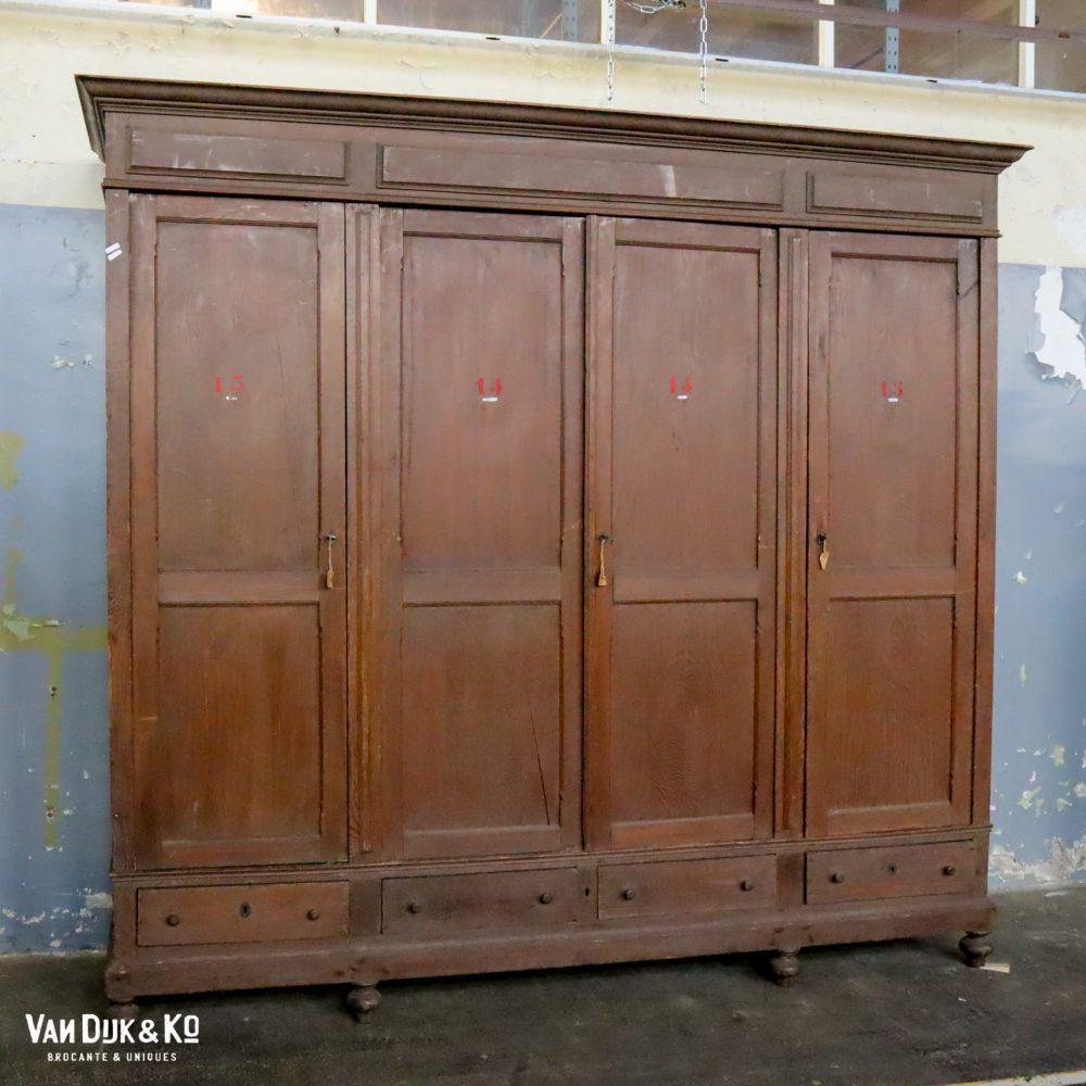 vintage schoolkast
