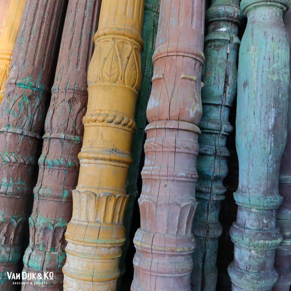 Hongaarse houten pilaren