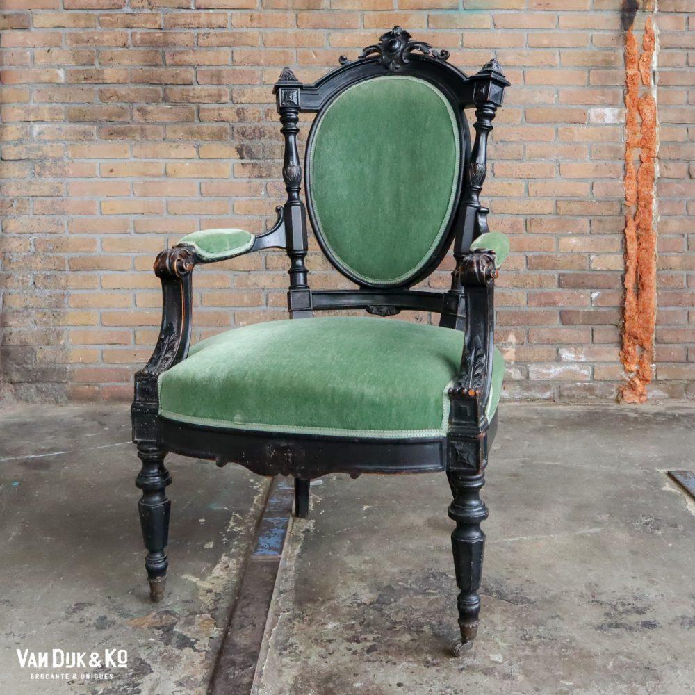 Vintage barok stoel