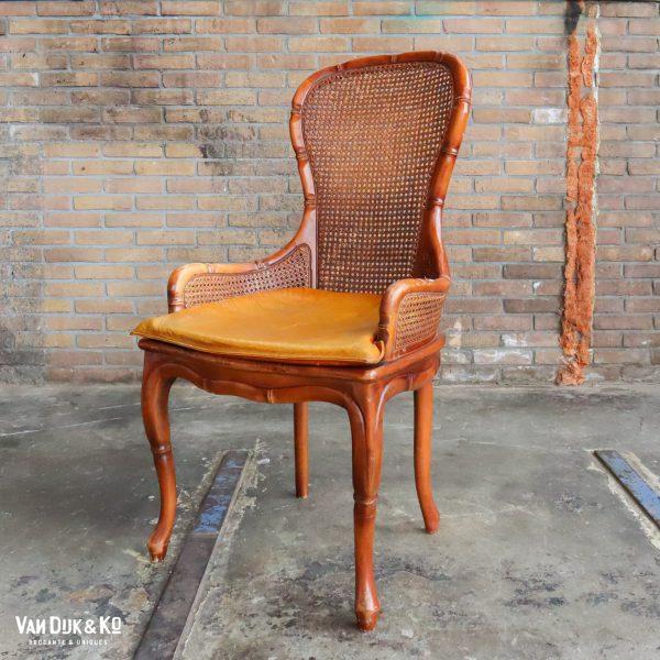 Vintage webbing stoel