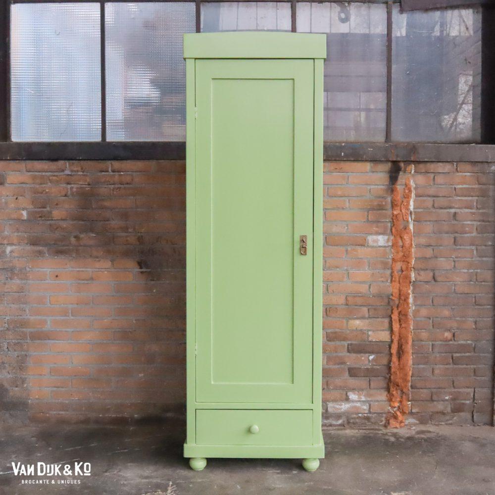 groene eendeurskast