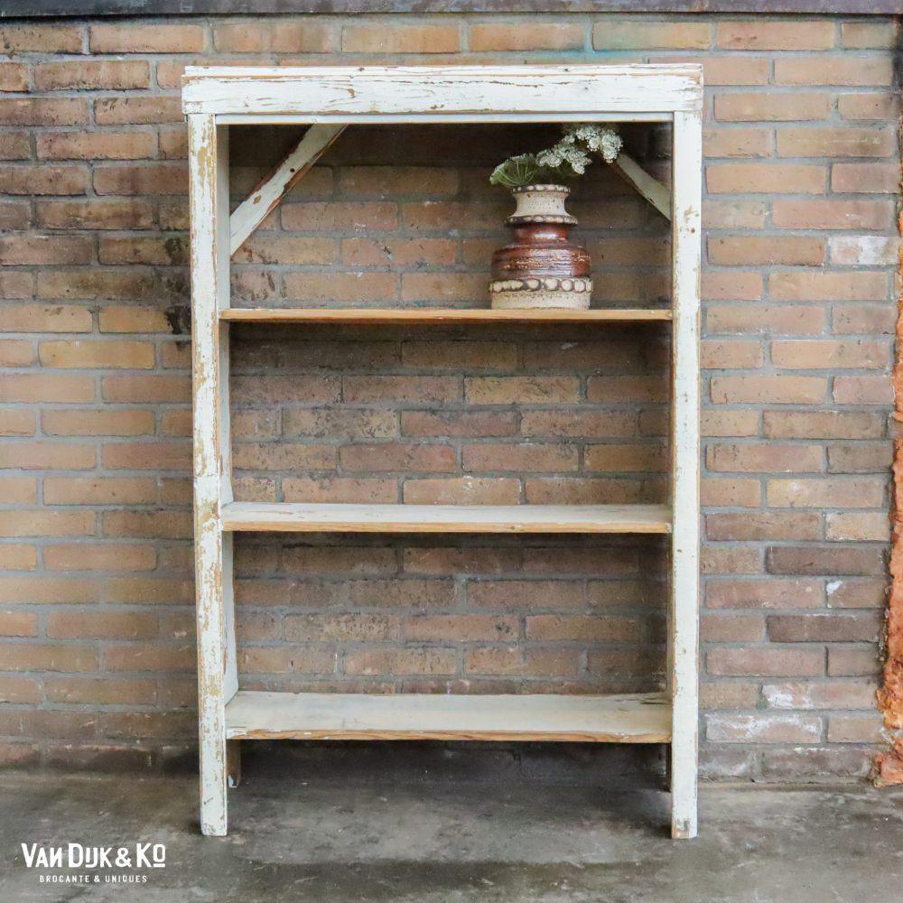 Witte open kast rek boekenkast