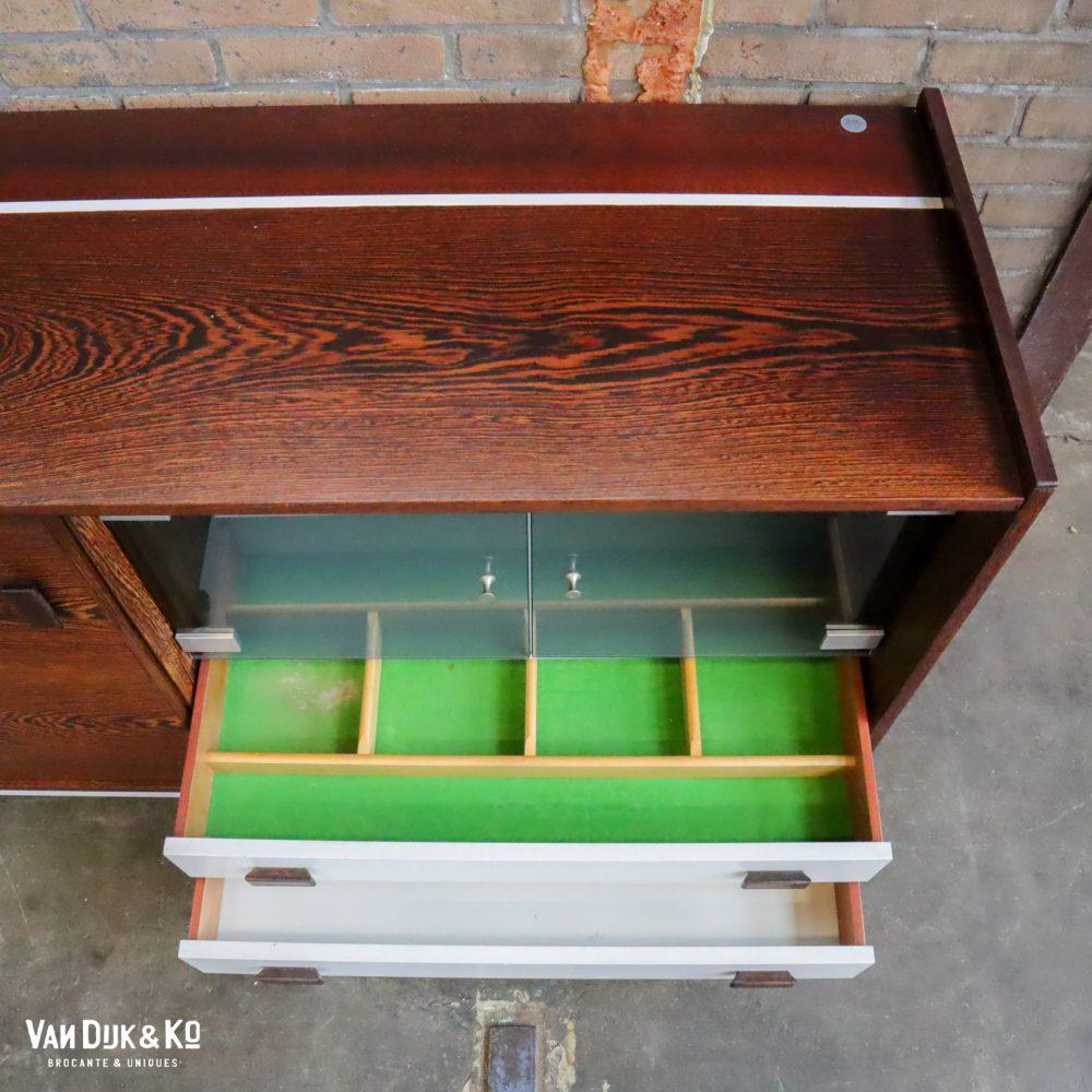 Vintage dressoir wandkast