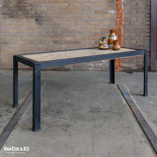 Industriële side-table