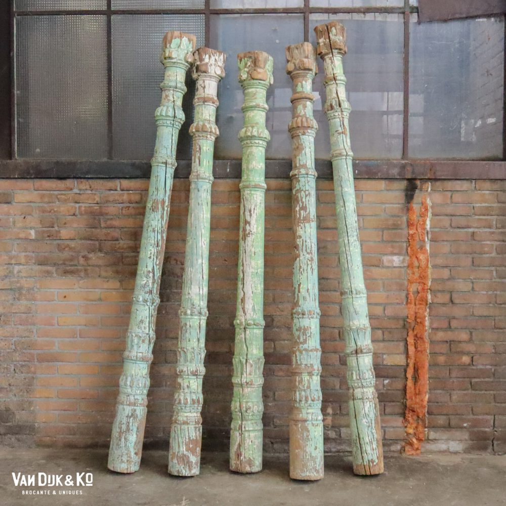 Hongaarse groene pilaren