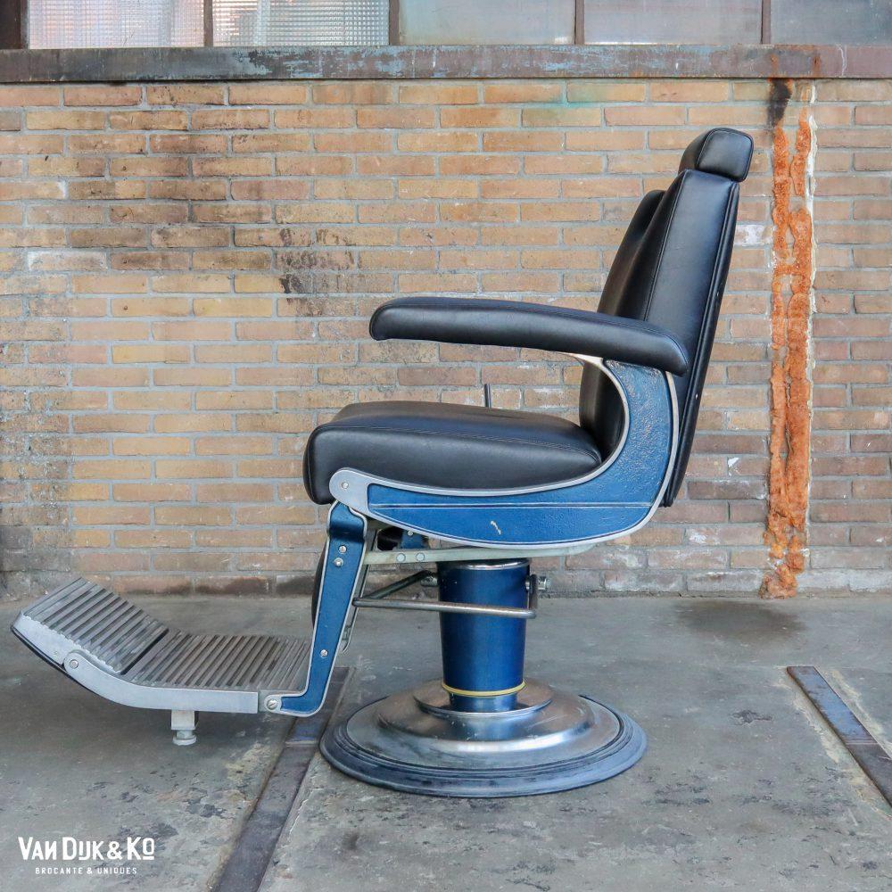 Vintage barbier/kappersstoel